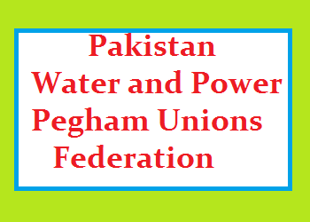 Pakistan Water and Power Pegham Unions Federation Logo