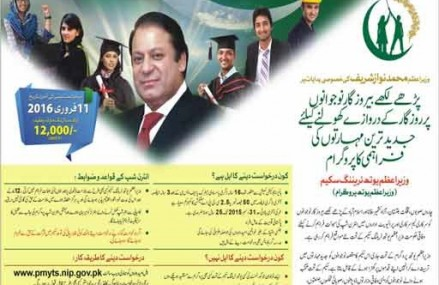 Nawaz Sharif National Internship Program – Apply Online