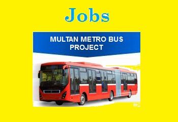 Multan Metro Bus Jobs