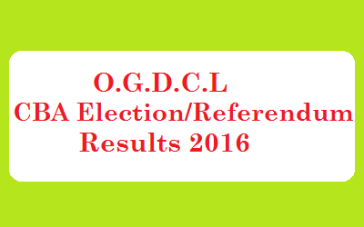 OGDCL CBA Union Election/Referendum Result 2016