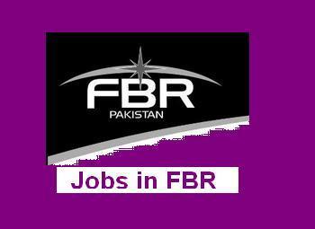 Jobs in FBR – Project Based Vacancies