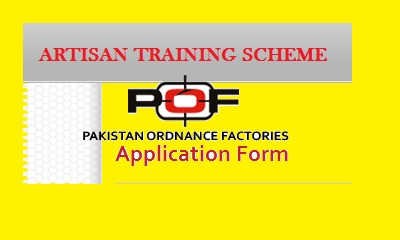POF Artisan Training Scheme Wah Cantt – Apply Online