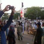 Punjab Teachers Dharna in Lahore Pics 4