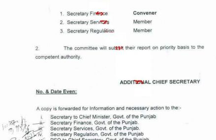 Punjab Govt Constitutes Committee for Upgradation of Technical/Non Clerical Employees