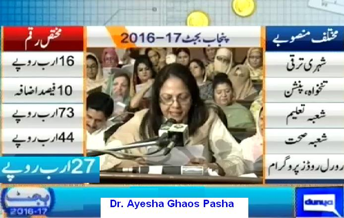 Punab Budget Overview 2016-17 - Pay and Pension, Education, Health Dept and Rural Road Program