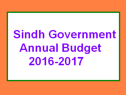 Sindh Budget 2016-17 - Govt Employees Salary and Pension