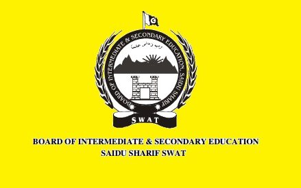 BISE Swat Matric SSC Result 2016