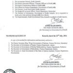 Sindh Govt Notification Revised Pay Scales and Allowances 2016 f
