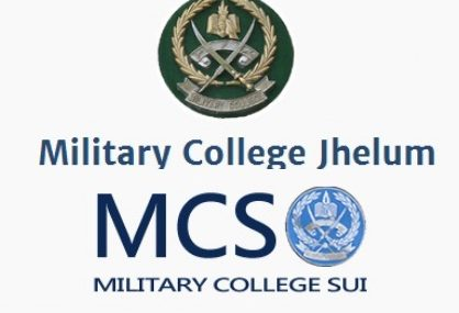 Admission in Military College Jhelum & Sui for year 2017