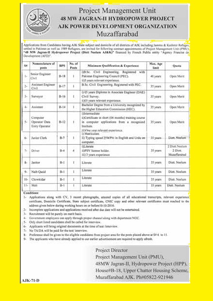 jobs-in-48mw-jagran-hydropower-project-ajk