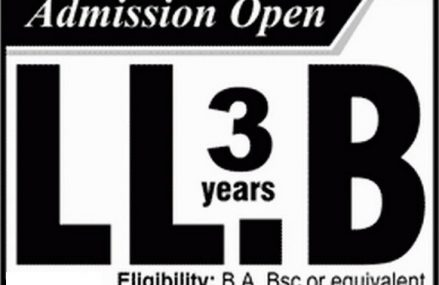LHC allows admissions in LLB 3 years program