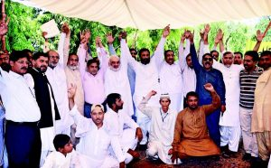 APCA Nasir Bagh Lahore Protest for Demands on 27-4-2017