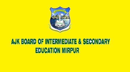 BISE AJK Mirpur Board Affiliated Schools and Colleges for SSC and HSSC Examinations