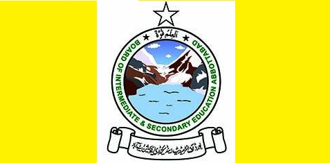 BISE Abbottabad Board Matric SSC Result 2017 Position Holders List Today