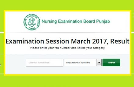 NEBP Examination Result Session March/April 2017 Announced