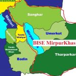 Area Map of BISE Mirpurkhas Board , Umerkot, Tharparker and Sanghar - Matric-SSC-II Class 10th Result 2017