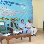 BISE Mirpurkhas Board Prize Distribution Ceremony 2016 for the toppers of SSC Part II Science group students Chairman Board Addressing on 24 July 2017