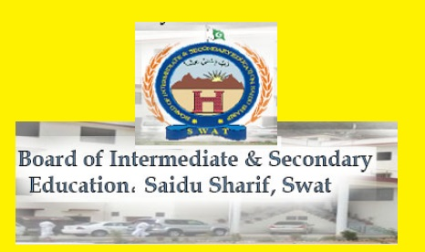 BISE Swat Board Inter HSSC FA FSc Result 2017