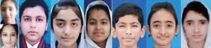 Bahawalpur Board BISE Bwp Matric Toppers Pics 2017 - maryam, Rahima Mazhar, Muhammad Umer, Fiza Fatima, Humesa, Fatin Khan, Amna Asif and Mehtab