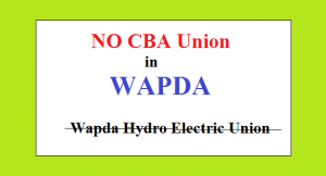No CBA Union in WAPDA - NIRC Orders July 2017 - LHC Orders June 2017