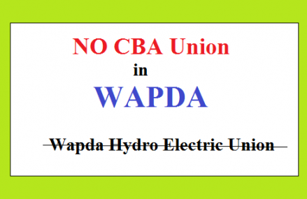 NIRC Stopped WAPDA Hydro Union Working as a CBA Union