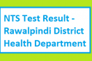 Rawalpindi District Health Department NTS Test Results Detail Nov 2017