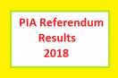PIA Referendum/Election Results 2018 – Peoples Unity Wins