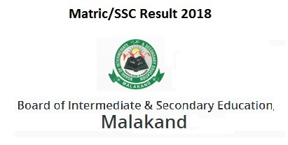 Malakand Board Matric/SSC Part I, II Result 2018 – Top Position Holders Class 9th, 10th