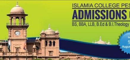 Islamia College Peshawar – Admission Schedule 2018 – Apply Online and Manually