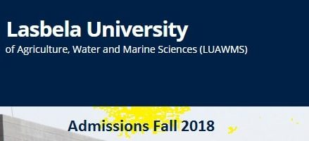 Lasbela University Admission Schedule 2018 – Merit List, Entry Test Results