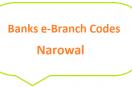 Narowal e-Branch Codes Zafarwal, Shakagarh MCB NBP HBL Fresh Notes 2019 on Eid ul Fitr 1440 SBP 8877 Service