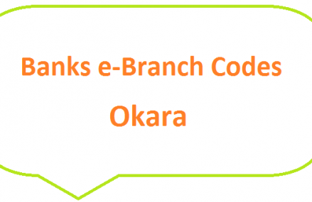 Okara Banks e-Branch Codes Renala Khurd MCB NBP HBL Fresh Notes 2019 on Eid ul Fitr 1440 SBP 8877 Service
